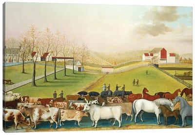 The Cornell Farm, 1848  Canvas Art Print