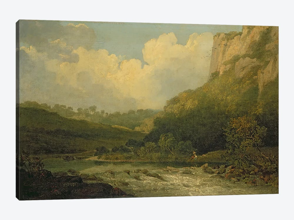 High Tor, Matlock, 1811  by John Crome 1-piece Canvas Art