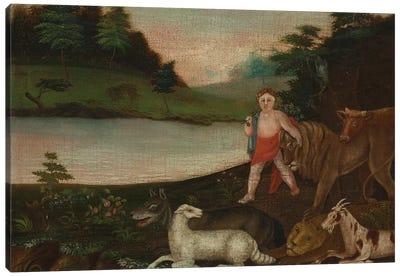 The Peaceable Kingdom, c.1816-18  Canvas Art Print