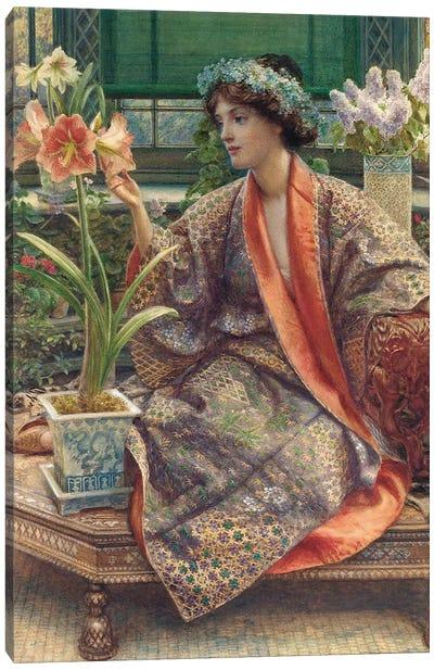 A Hot-House Flower, 1909  Canvas Art Print