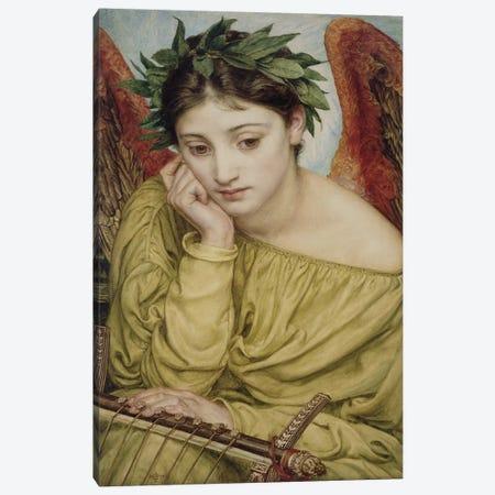 Erato, Muse of Poetry, 1870  Canvas Print #BMN10107} by Edward John Poynter Canvas Print