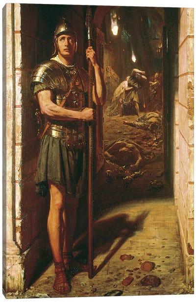 Faithful unto Death, 1865  Canvas Art Print