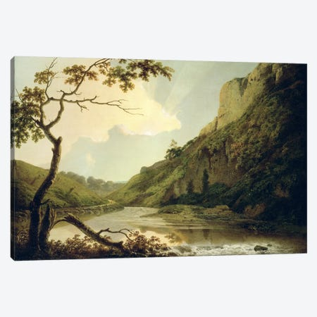 Matlock Tor, c.1778-80  Canvas Print #BMN1010} by Joseph Wright of Derby Canvas Print