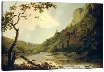 Matlock Tor, c.1778-80  Canvas Art Print