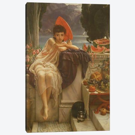On the Temple Steps, 1889  Canvas Print #BMN10111} by Edward John Poynter Canvas Print