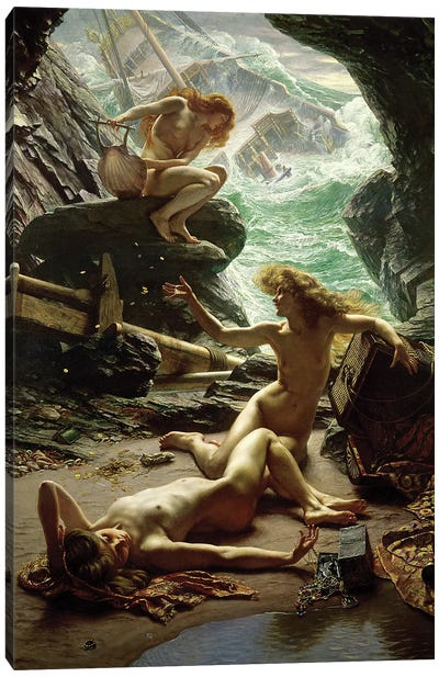 The Cave of the Storm Nymphs, 1903  Canvas Art Print