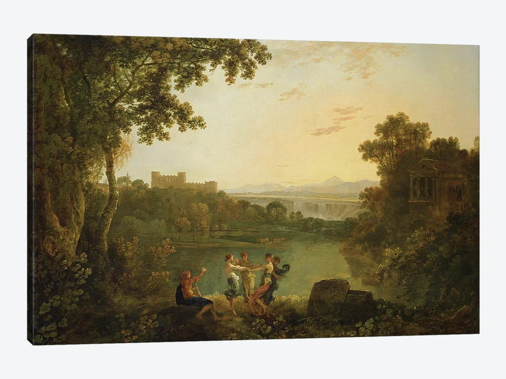 Apollo and the Seasons  by Richard Wilson 1-piece Canvas Print