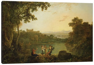 Apollo and the Seasons  Canvas Art Print