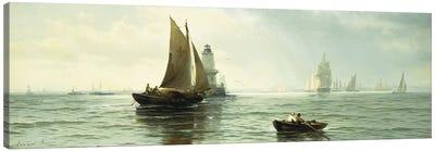 Around the Lighthouse,  Canvas Art Print