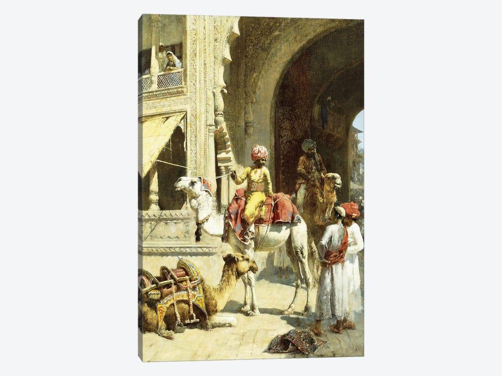 Indian Scene, 1884-89  by Edwin Lord Weeks 1-piece Canvas Art Print