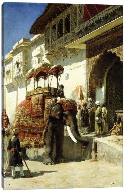 The Rajah's Favourite, 1884-89  Canvas Art Print