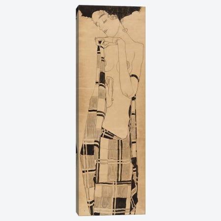 Standing Girl, c.1908-09  Canvas Print #BMN10184} by Egon Schiele Art Print