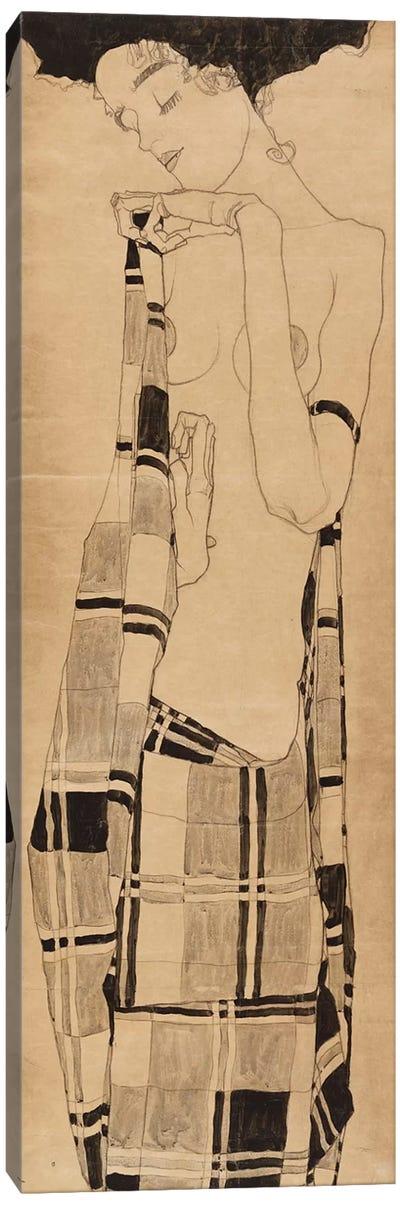 Standing Girl, c.1908-09  Canvas Art Print