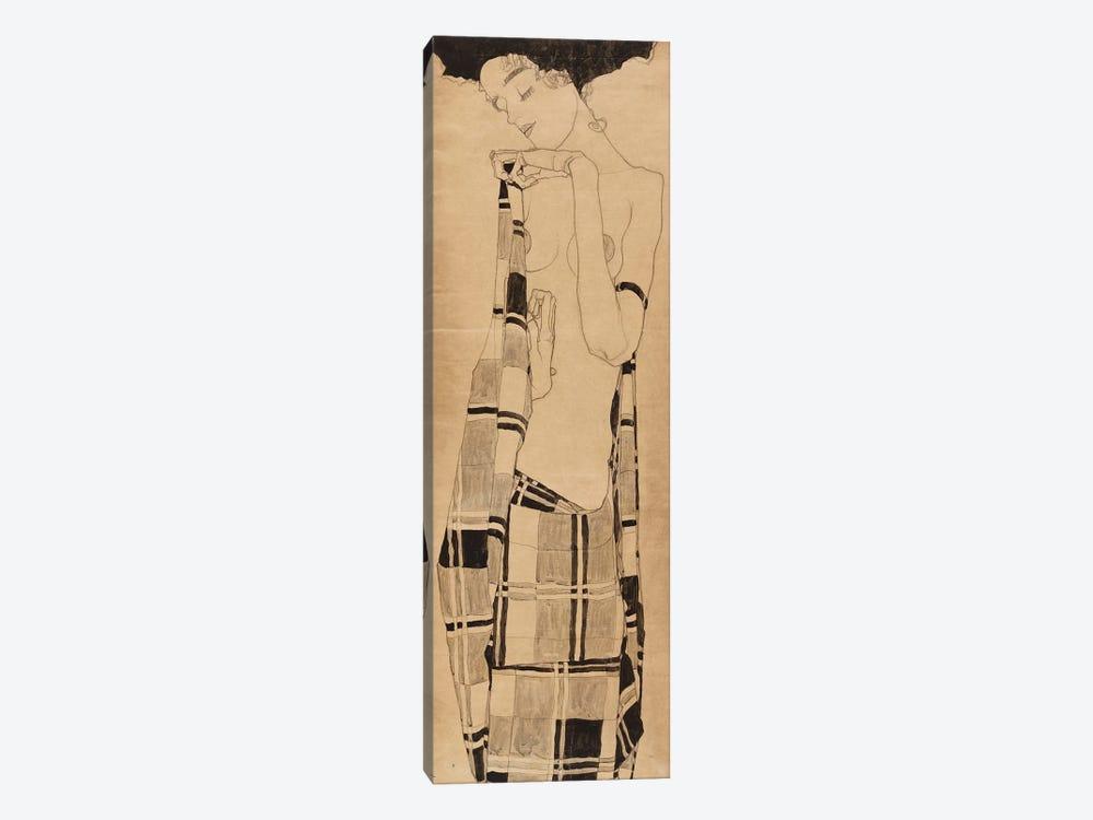 Standing Girl, c.1908-09  by Egon Schiele 1-piece Art Print
