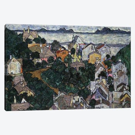 Summer Landscape; Sommerlandschaft, 1917  Canvas Print #BMN10187} by Egon Schiele Art Print