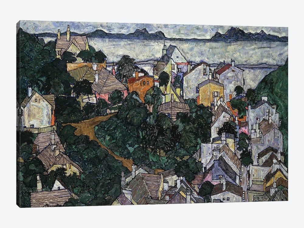 Summer Landscape; Sommerlandschaft, 1917  by Egon Schiele 1-piece Canvas Artwork