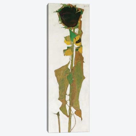 Sunflower Canvas Print #BMN10188} by Egon Schiele Canvas Artwork