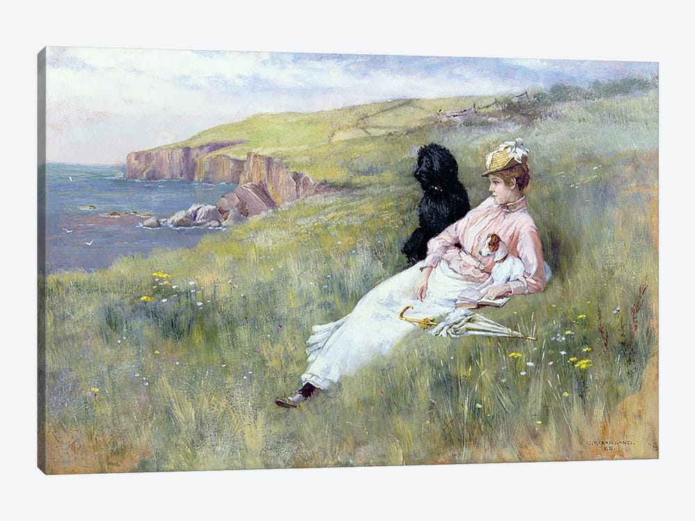 Sea Dreams, 1888 by Charles Trevor Garland 1-piece Canvas Artwork