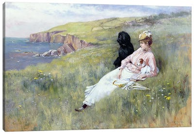 Sea Dreams, 1888 Canvas Art Print