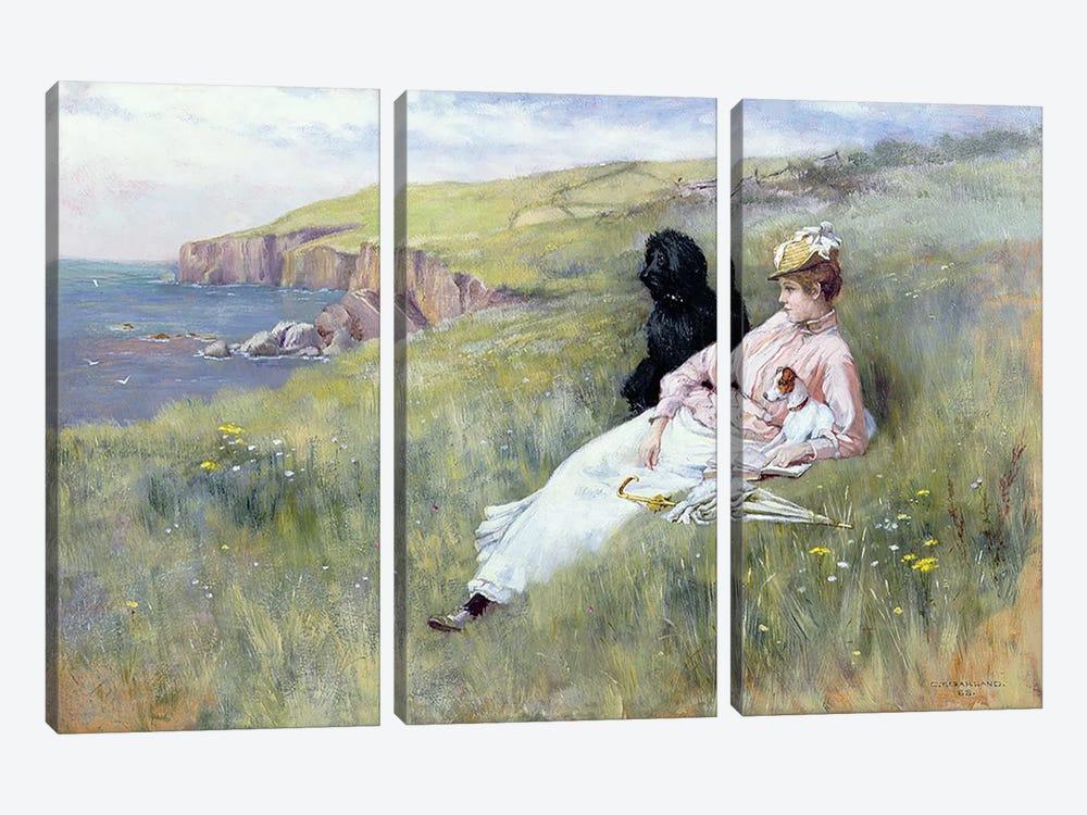 Sea Dreams, 1888 by Charles Trevor Garland 3-piece Canvas Wall Art