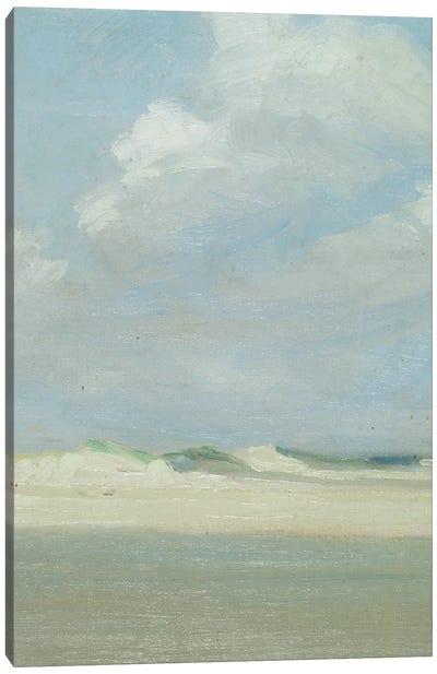 Dunes at the Sea   Canvas Art Print