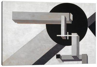 Proun 1 D, 1919  Canvas Art Print