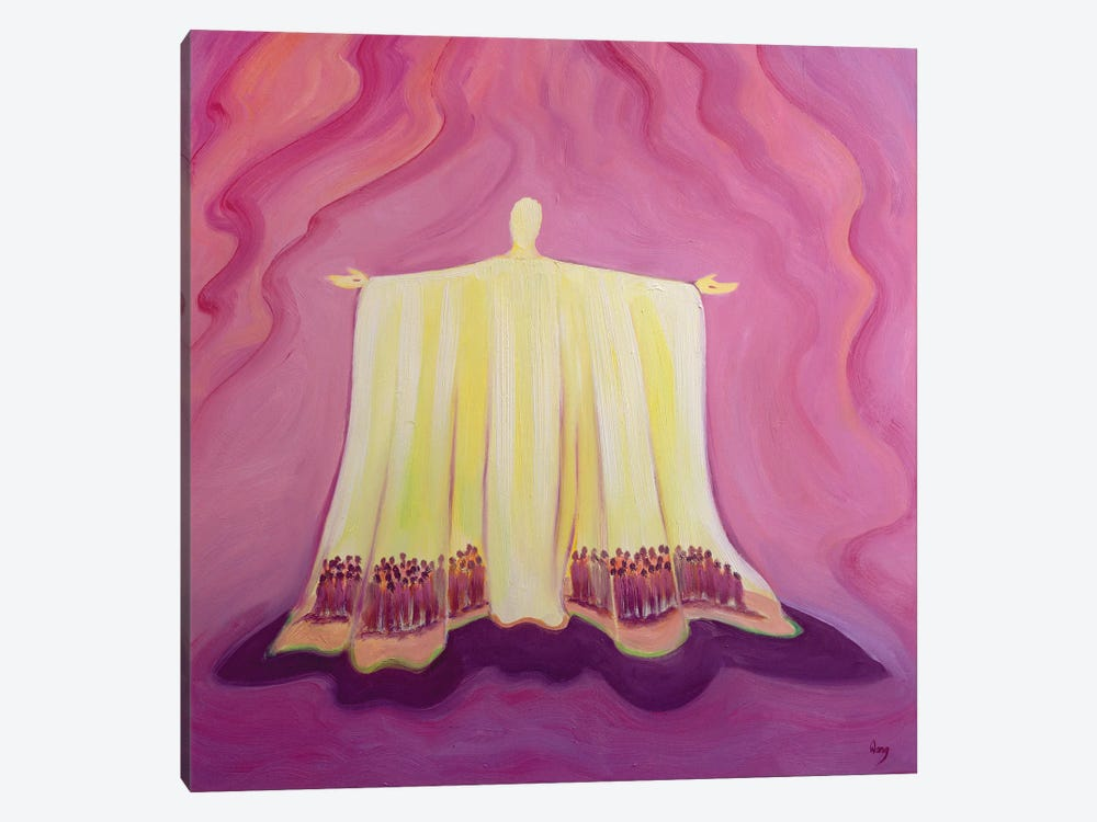 Jesus Christ is like a tent which shelters us in life's desert, 1993  by Elizabeth Wang 1-piece Canvas Art Print