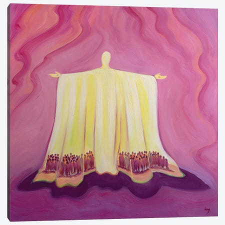 Jesus Christ is like a tent which shelters us in life's desert, 1993  Canvas Print #BMN10204} by Elizabeth Wang Canvas Artwork