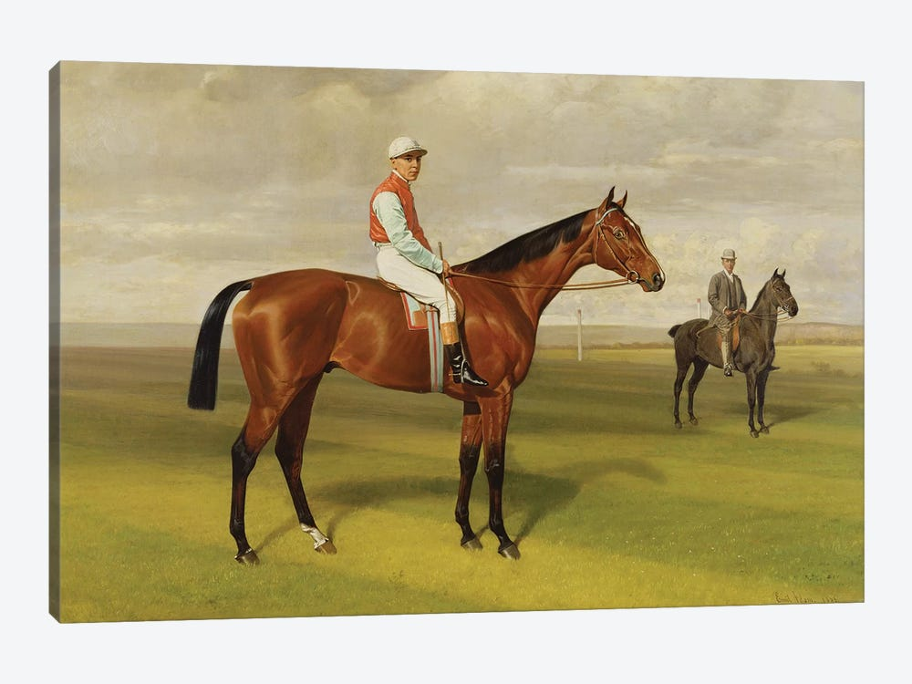 Isinglass', Winner of the 1893 Derby, 1893   by Emil Adam 1-piece Canvas Wall Art