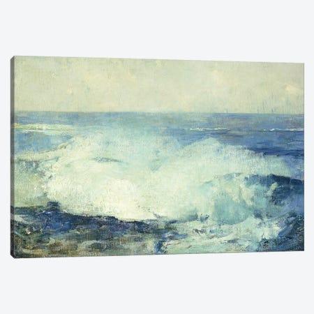 Crashing Waves,  Canvas Print #BMN10212} by Emil Carlsen Canvas Artwork