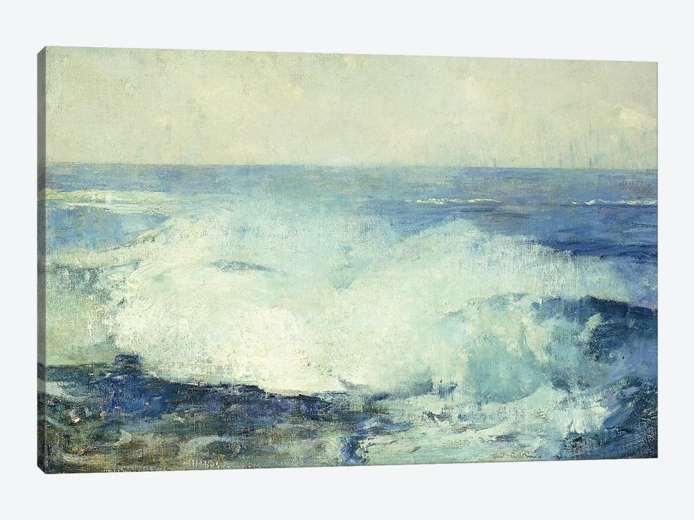 Crashing Waves,  by Emil Carlsen 1-piece Canvas Wall Art