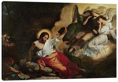 Christ in the Garden of Olives, 1827  Canvas Art Print