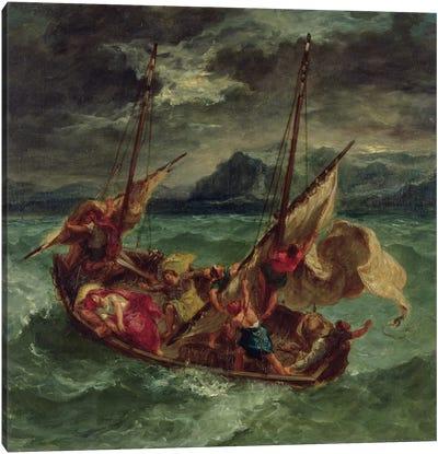Christ on the Sea of Galilee, 1854  Canvas Art Print