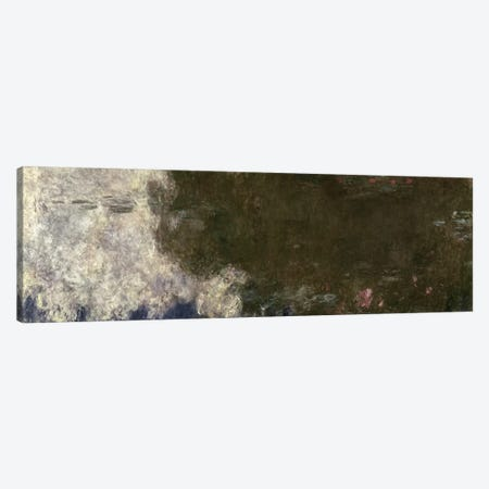 The Waterlilies - The Clouds Canvas Print #BMN1023} by Claude Monet Canvas Artwork