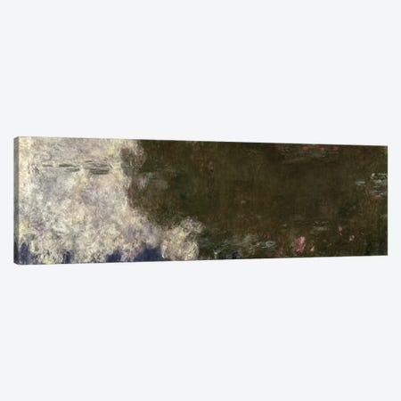 The Waterlilies - The Clouds Canvas Print #BMN1023} by Claude Monet Canvas Artwork