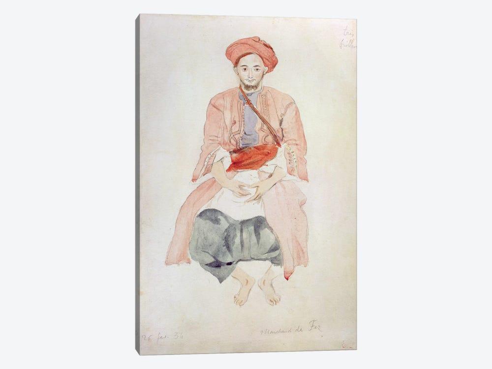 Fez Vendor, 1834  by Ferdinand Victor Eugene Delacroix 1-piece Art Print