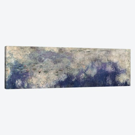 The Waterlilies - The Clouds Canvas Print #BMN1024} by Claude Monet Art Print