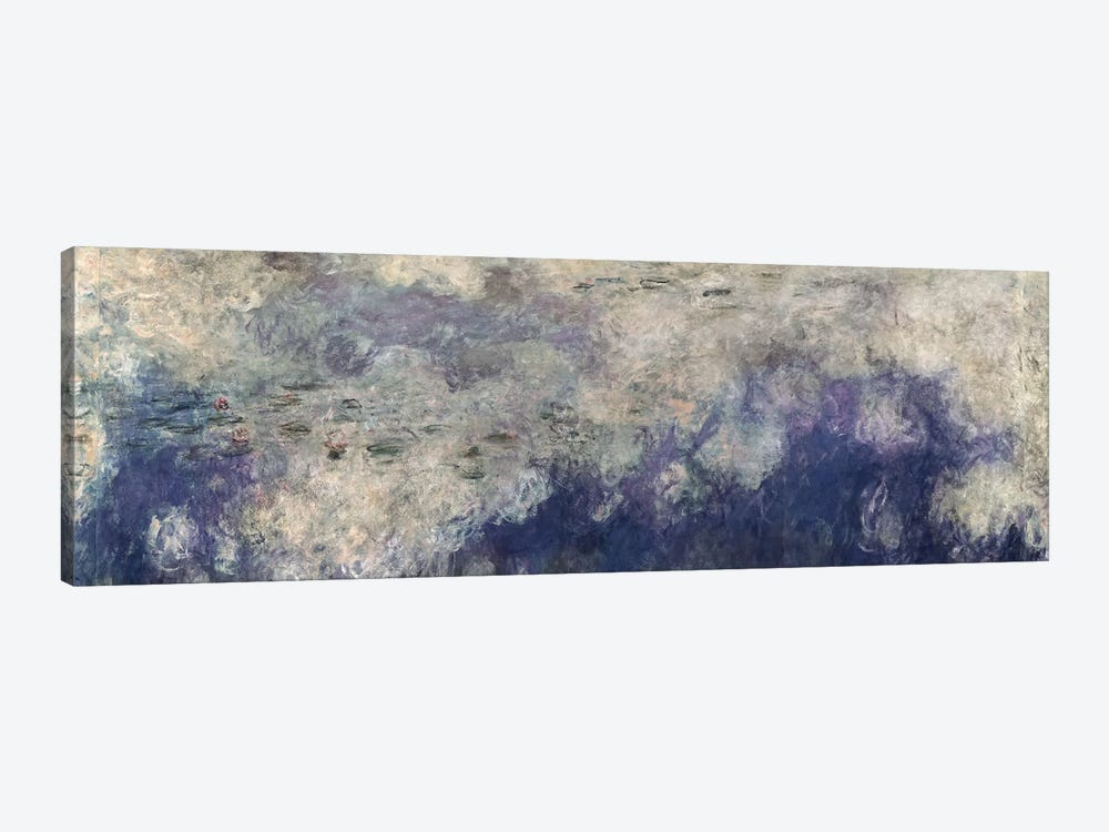 The Waterlilies - The Clouds by Claude Monet 1-piece Canvas Art Print