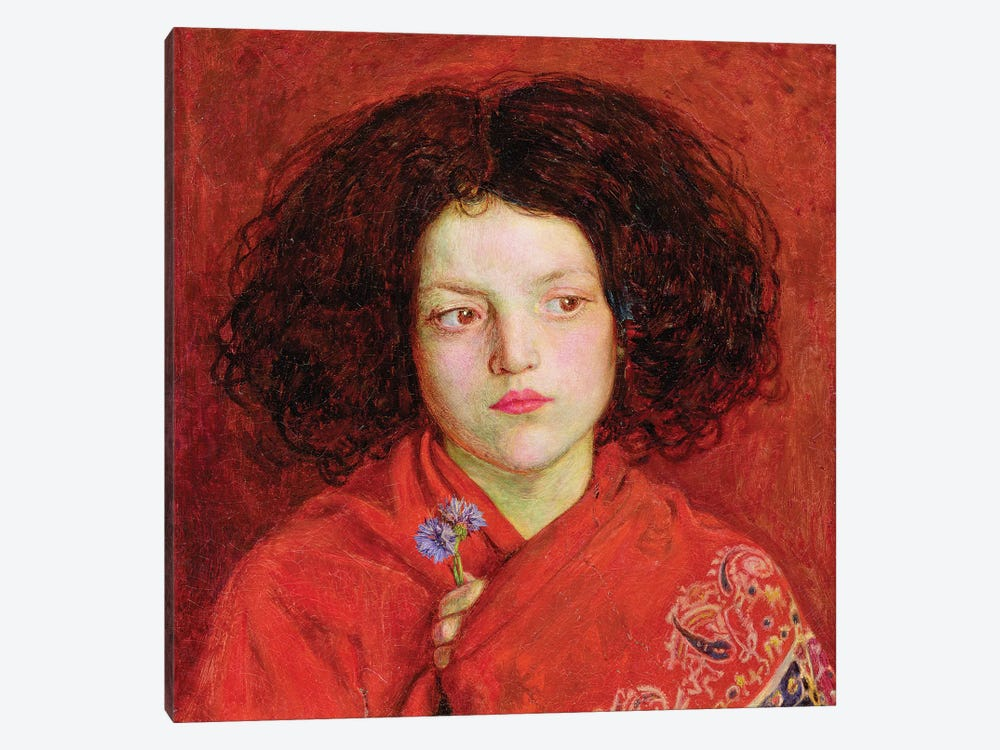 The Irish Girl, 1860  by Ford Madox Brown 1-piece Canvas Art Print