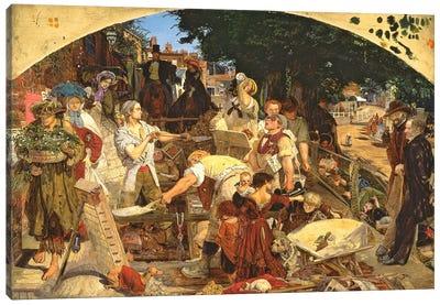 Work', 1852-65   Canvas Art Print