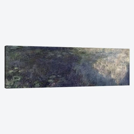 Waterlilies - The Clouds  Canvas Print #BMN1025} by Claude Monet Art Print