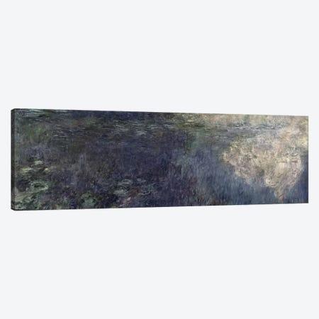 Waterlilies - The Clouds  Canvas Print #BMN1025} by Claude Monet Art Print