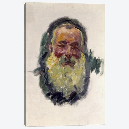 Self Portrait, 1917  Canvas Print #BMN1026} by Claude Monet Art Print