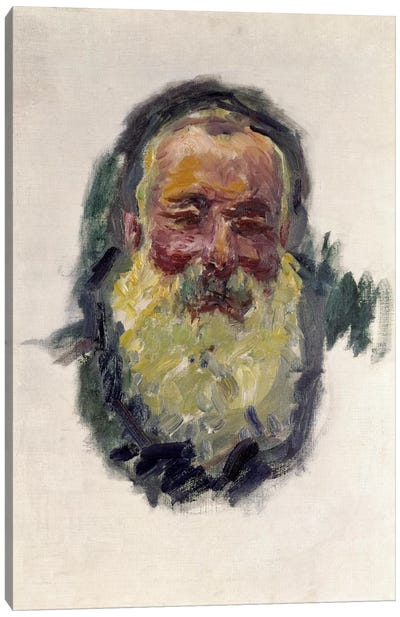 Self Portrait, 1917 Canvas Art Print