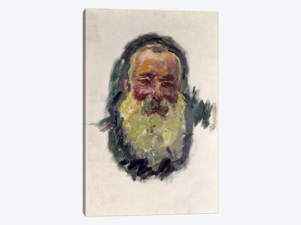 Self Portrait, 1917  by Claude Monet 1-piece Canvas Art Print