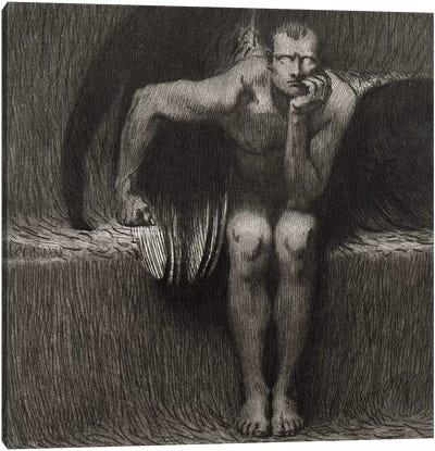 Lucifer, 1892  Canvas Art Print