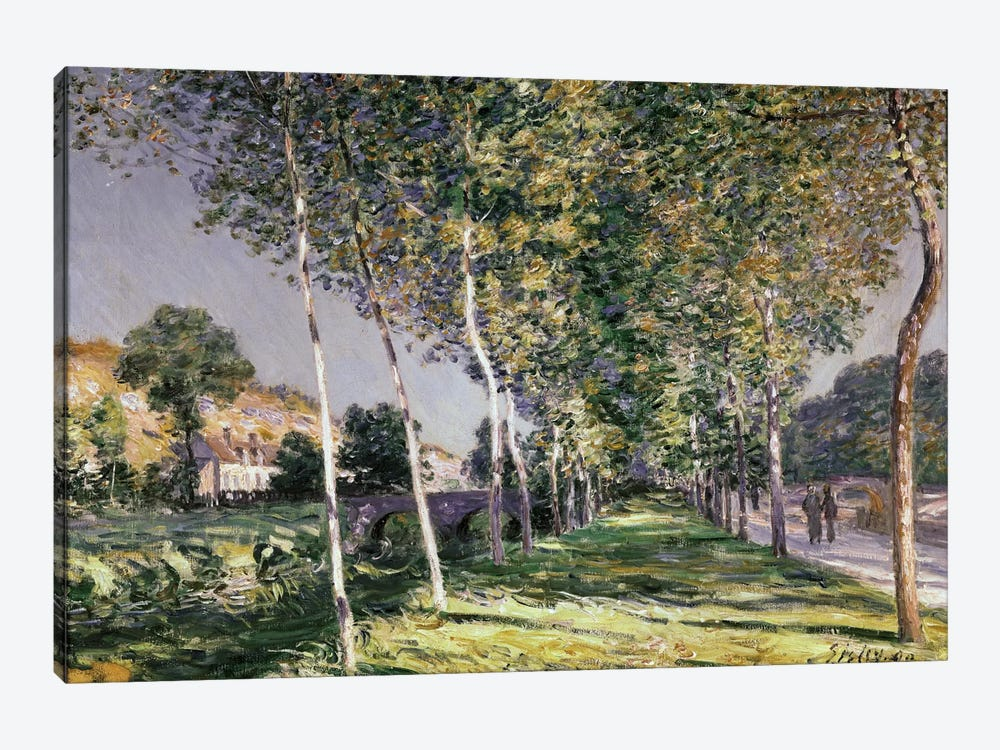 The Walk, 1890  by Alfred Sisley 1-piece Canvas Artwork