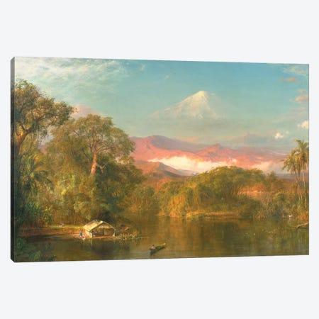 Chimborazo, 1864  Canvas Print #BMN10286} by Frederic Edwin Church Canvas Art
