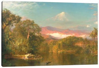 Chimborazo, 1864  Canvas Art Print