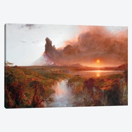 Cotopaxi, 1862  Canvas Print #BMN10287} by Frederic Edwin Church Canvas Artwork